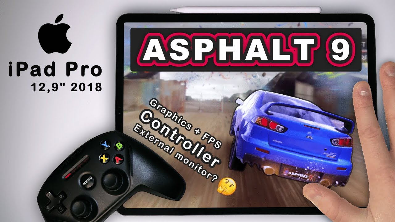 How To Use Controller On Asphalt 9