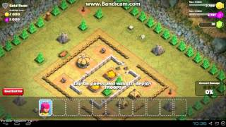 Clash of clans walkthrough- Gold Rush