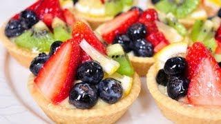 ทาร์ตผลไม้ - ฟรุตทาร์ต Fruit Tart