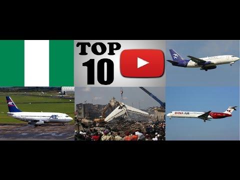 Top Ten Deadliest Air Crashes of Nigeria