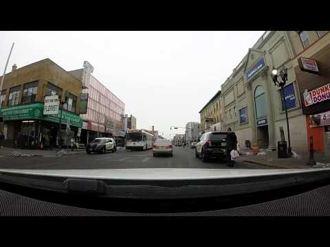Drive down Famous Bergenline Avenue in West New York, NJ