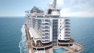 Inspirado en un concepto pionero, MSC Seaview te acercará aún más a...