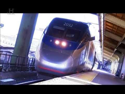 Extrémní Vlaky - Vysokorychlostní vlaky. Dokument. Extreme Trains