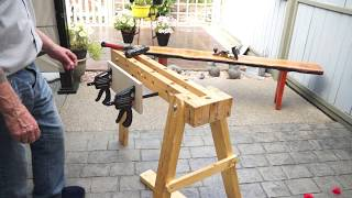 moxon vise #2 the better option, this vise is a slider