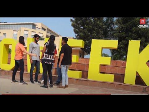 Orientation 2018 at Chitkara University