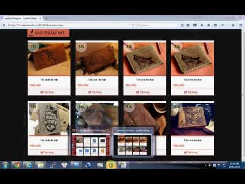 05 - Learn HTML & CSS With Example: Create Box Products (park 2)