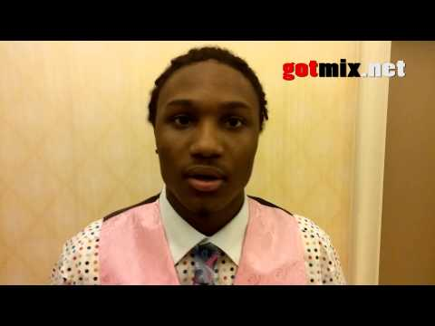 Armanti Foreman Houston Offensive Player of the year 2013 Interview with Gotmix.net