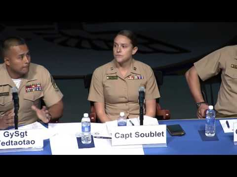Panel: Lessons in Leadership: A Conversation with Young Marines
