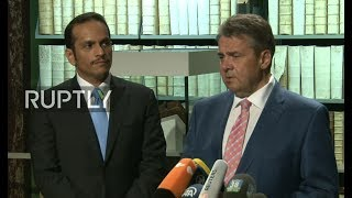 LIVE: Foreign ministers of Germany and Qatar hold joint press conference in Wolfenbuettel