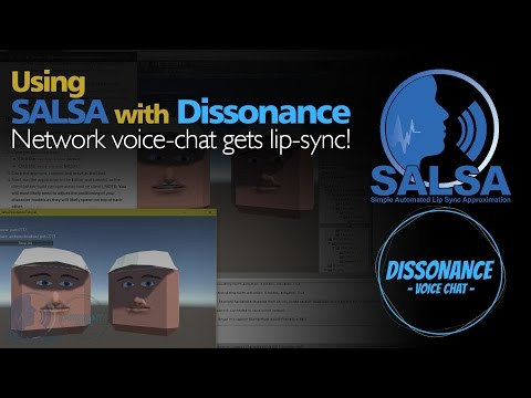 SALSA Lip Sync with Dissonance Voice Chat (tutorial)