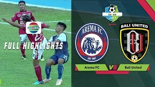 Download Video Arema FC (3) vs (1) Bali United - Full Highlights | Go-Jek Liga 1 bersama Bukalapak MP3 3GP MP4