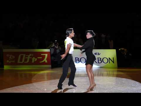 4K 2018 WDSF International Open Latin in Tokyo | Guillem Pascal-Rosa Carne, ESP | Honor