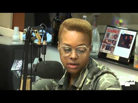 Chrisette Michele at The Breakfast Club - Power 105.1