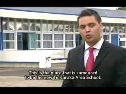 Two schools close in Te Karaka Gisborne Te Karere Maori News 6 Nov 2009 TVNZ