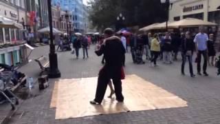 Аргентинское танго на Арбате, Елена Семешко 3(Москва, Арбат., 2015-08-30T18:54:22.000Z)