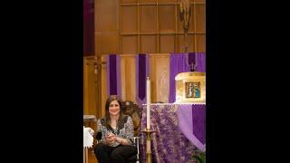 Samia Zumout:  Testimonio, Medjugorje, Enfermedad y Oración de Sanación Interior Marzo15,2015