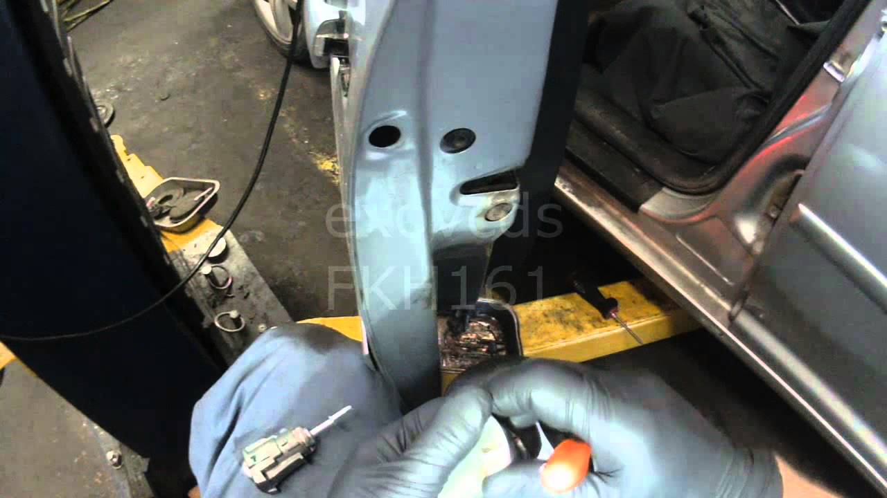 Vw A4 Driver Door Lock Cylinder Removal Amp Install Youtube