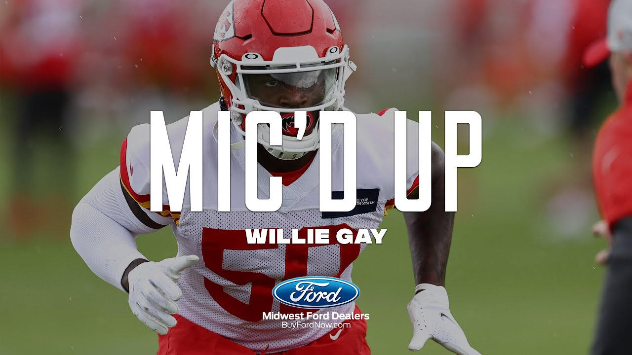 """Willie Gay Mic'd Up: """"Y'all not gone get me this year"""" 