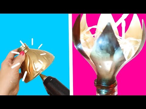 DIY LAMPSHADES MADE OF RECYCLED ITEMS Easy DIY Lights And Lamps Ideas