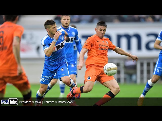 2014-2015 - Jupiler Pro League - PlayOff 1 - 04. AA Gent - Club Brugge 2-2