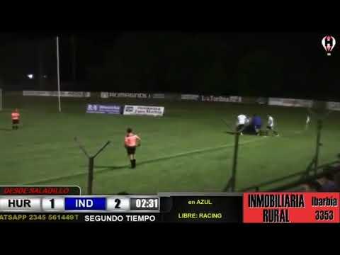 Gol de Cortadi a Huracán de Saladillo (Relato Gol de Cannigia a Brasil)