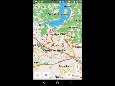 Osmand - Guida rapida utilizzo tracce gpx