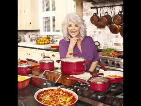Paula Deen Savannah Collection Aluminum Nonstick 17 Piece Cookware Set, Red