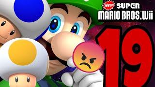 GLI ULTIMI LIVELLI!!!! - New Super Mario Bros.Wii/Ep.19 ITA (FINE)