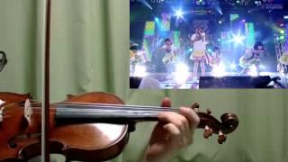 私立恵比寿中学 Go!Go!Here We Go!ロック・リーをヴァイオリンで演奏してみた