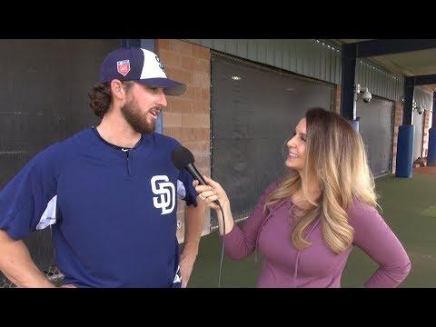 Talking With Padres Starting Pitcher Bryan Mitchell   San Diego Union-Tribune