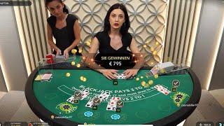 CRAZY Live Dealer Blackjack Session ♣️