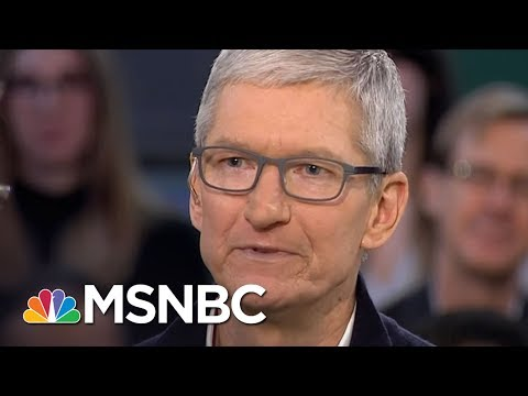 Apple CEO Tim Cook: 'Privacy Is 'A Human Right' | MSNBC