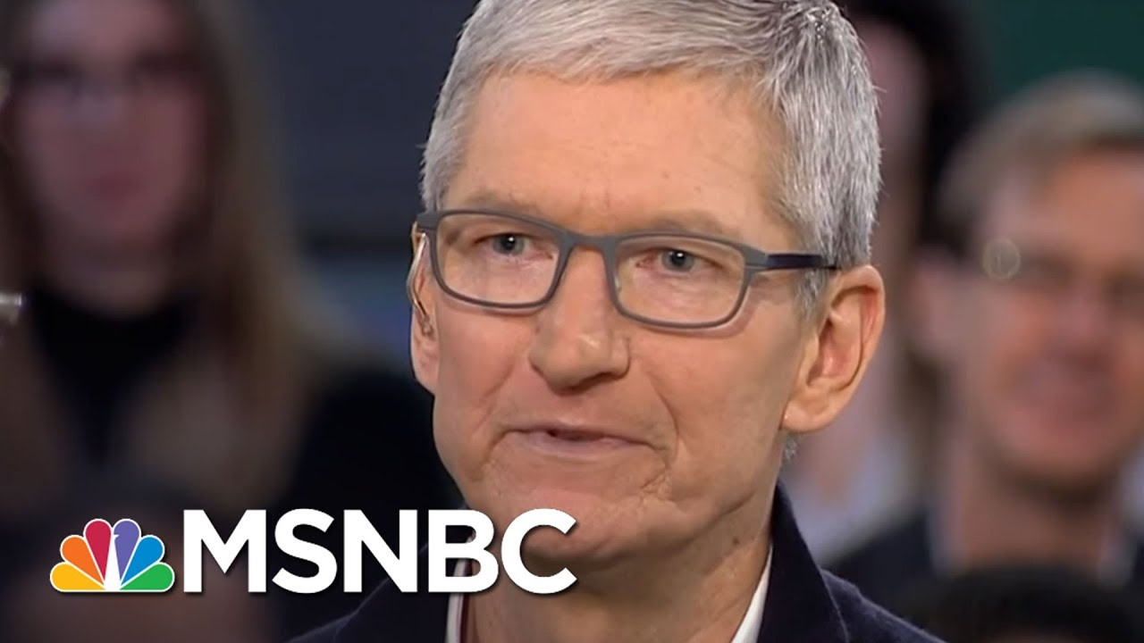 Watch: Apple CEO Tim Cook explains why 'privacy is a human right'