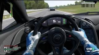 Project CARS a walk in Oulton Park McLaren P1 VR Oculus Rift Logitech G27