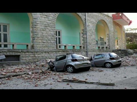 زلزال بقوة 5.6 على سلم ريختر يضرب غرب العاصمة الألبانية تيرانا (رويترز)…  - نشر قبل 10 ساعة