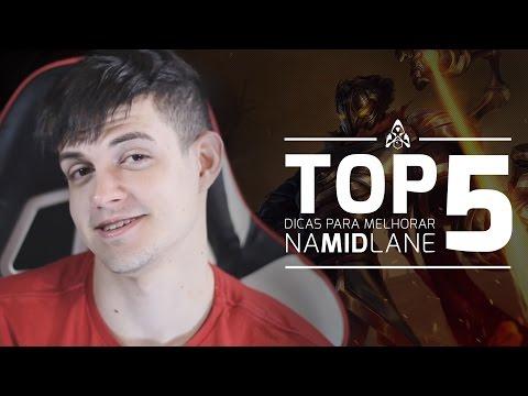 TOP 5 - Dicas para melhorar na mid lane com Kami