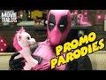 DEADPOOL 2 | Promo Parodies Compilation - Ryan Reynolds Superhero Movie