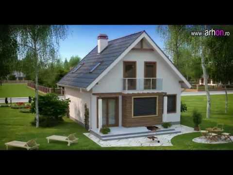 Casa cu mansarda z99