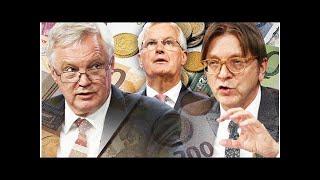 Brexit shock: no deal will cost eu £500billion