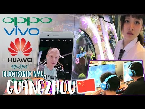 Guangzhou Tech City Tour: Future Robots, ESports LoL & Chinese Smartphone Review - China Travel Vlog