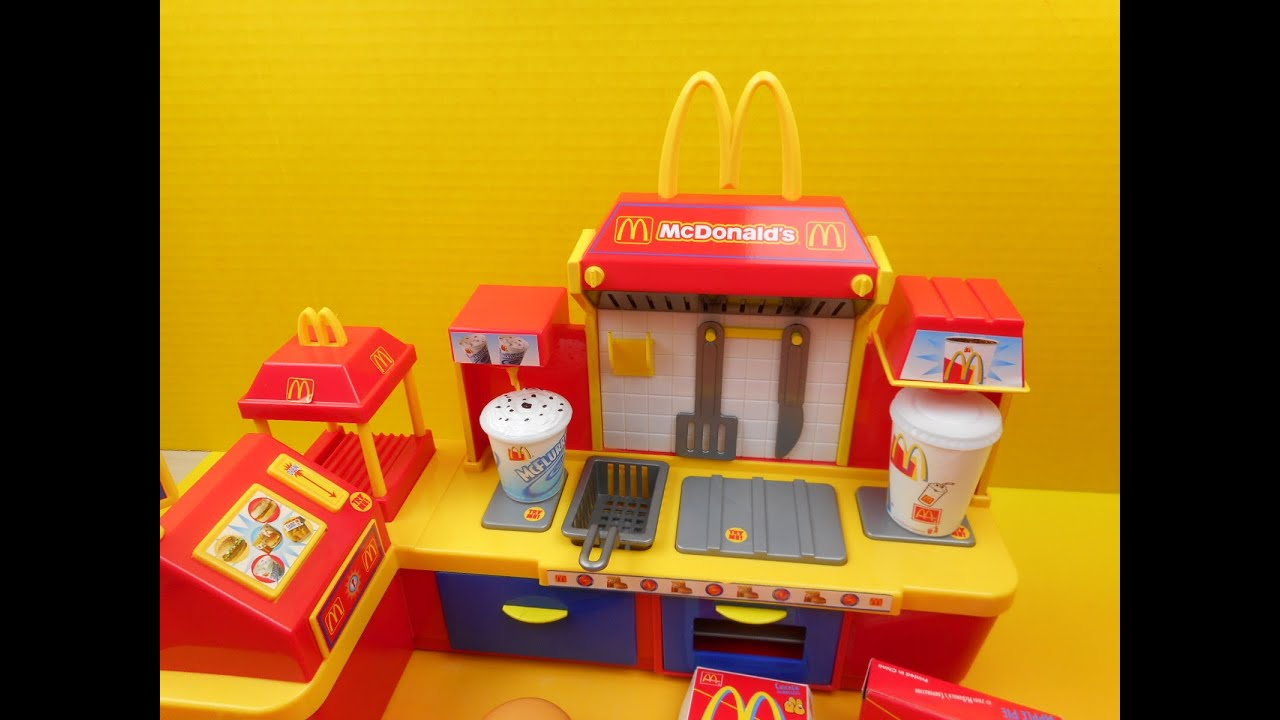 2001 mcdonald 39 s fast food center electronic playset video review youtube. Black Bedroom Furniture Sets. Home Design Ideas