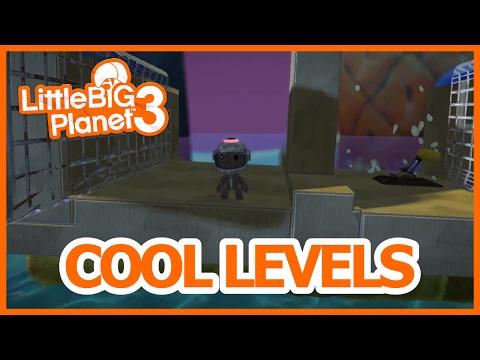 LBP3 Cool Levels - Skateboard fun & portal gun