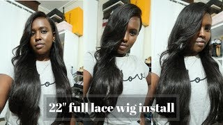 ANSWERING GEEK HAIR FAQS & INSTALLING 22' WIG | TIPS & TRICKS | Nelly Mwangi