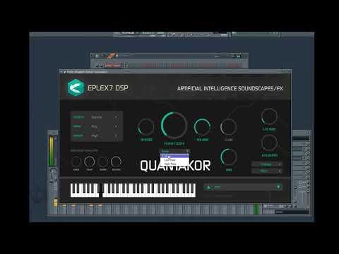 Eplex7 DSP Quantakor VSTi & AU plug-in instrument - Psytrance / Darkpsy demo tutorial