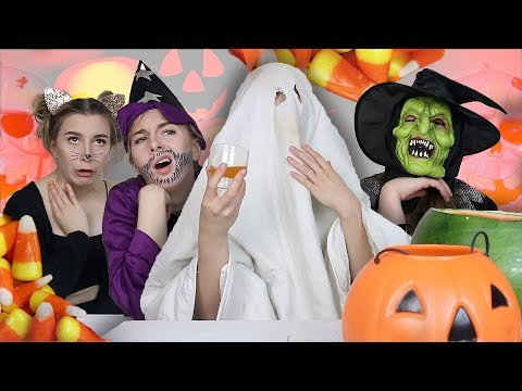 TYPES OF PEOPLE ON HALLOWEEN || Georgia Productions