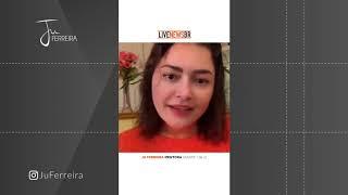 Entrevista Ju Ferreira para Livenewsbr