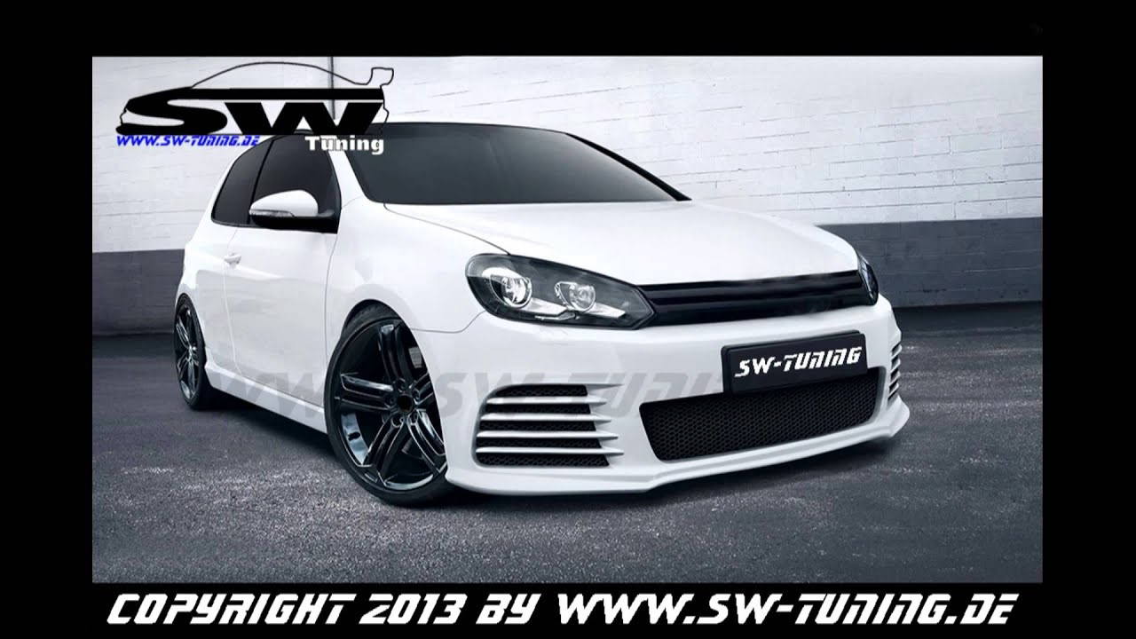 Bodykit sw look f r vw golf 6 powered by sw tuning