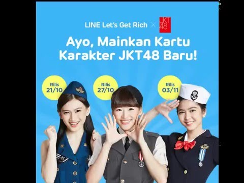 SuperRabbitBand - Line Let's Get Rich x JKT48 Song Cover !
