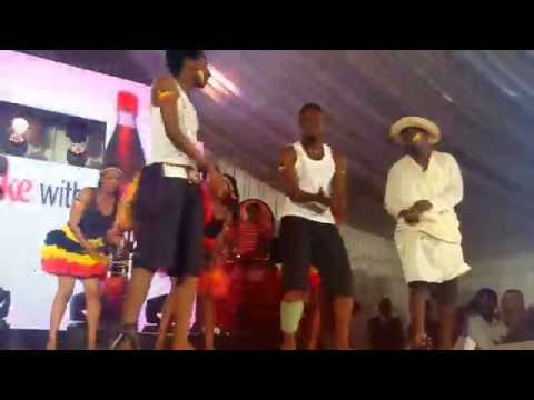 USIU Culture Week 2015 Ugandan Dance Performance.  (Go Down Low, Wale Wale, Kamungolo, Sitya Loss)