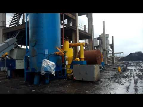 Biomass waste or plastic waste pyrolysis gasification for syngas, for brick kiln, rotary kiln, dryer